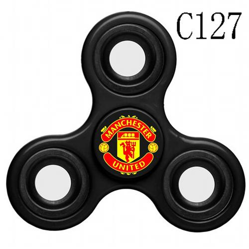 Manchester United 3 Way Fidget Spinner C127-Black
